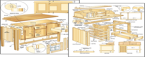 50 Woodworking Plans & 440-Page Guide Book Absolutely FREE!